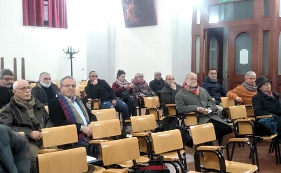 Sala Valeriano, pubblico