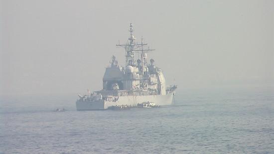 La portaerei Harry S. Truman nel golfo di Napoli