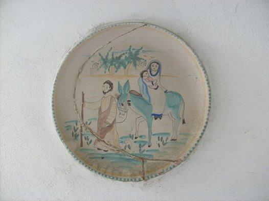 Gesù, Giuseppe e Maria migranti in Egitto